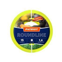 Леска PATRIOT Roundline 1.6мм*15м (круглая,желтая) 805201011
