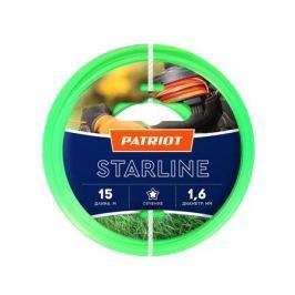 Леска PATRIOT STARLINE 1.6мм*15м (звезда,зеленая) 805201051