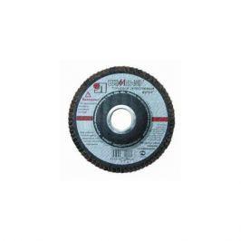 Круг лепестковый торцевой ЛУГААБРАЗИВ 180*22 ZK 80 по нерж.