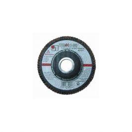 Круг лепестковый торцевой ЛУГААБРАЗИВ 115*22 ZK 80 по нерж.