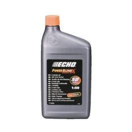 Масло ECHO для 2тактных двигателей 1:50 1л полусинтетик. 6454107