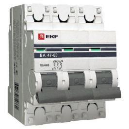 Выключатель EKF автомат.ВА 4763 16А 3П