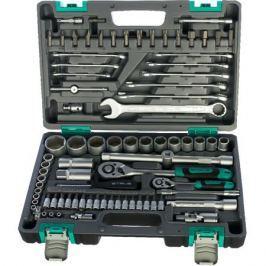 Набор инструментов Stels 14105 1 2,1 4, CrV, пластиковый кейс 82пр.