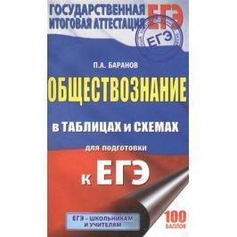 Баранов П. ЕГЭ. Обществознание в таблицах и схемах. 10-11 классы