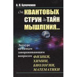 Бучаченко А. От квантовых струн до тайн мышления…Экскурс по самым завораживающим вопросам физики, химии, биологии, математики