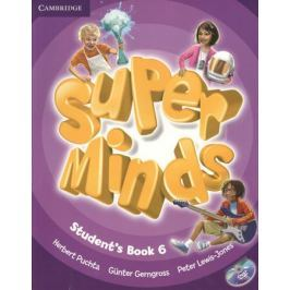 Gerngross G., Puchta H., Lewis-Jone P. Super Minds. Level 6. Student's Book (+DVD) (книга на английском языке)