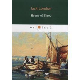 London J. Hearts of Three (книга на английском языке)