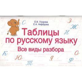 Узорова О.В., Нефёдова Е.А. Таблицы по русскому языку. Все виды разбора