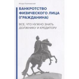 Галичевский И. Банкротство физического лица (гражданина). Все, что нужно знать должнику и кредитору
