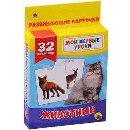 Дюжикова А. (гл.ред.) Развивающие карточки. Животные. 32 карточки