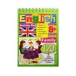 Владимирова А. English. Activity pad. Family. Level 1. Сборник развивающих заданий + кроссворды на английском языке