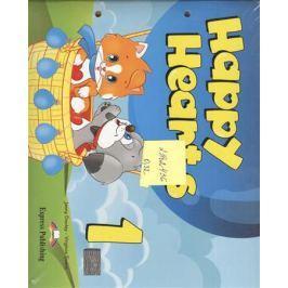 Dooley J., Evans V. Happy Hearts 1. Pupil's Book. Учебник (для детей 4-5 лет) с вкладышем