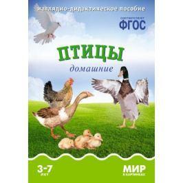 Минишева Т. Птицы домашние. Наглядно-дидактическое пособие