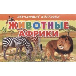 Глушкова Н. (худ.) Обучающие карточки. Животные Африки