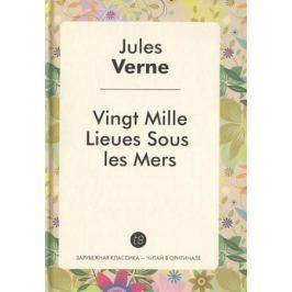 Verne J. Vingt Mille Lieues Sous Les Mers. Le Roman en francais = 20000 лье под водой. Роман на французском языке