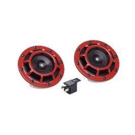 Звуковой сигнал Hella 300-500 гц красные