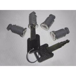 Комплект замков и ключ 4 замка, 2 ключа