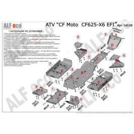 Защита ATV CF Moto CF500-X5/CF625-X6 Алюминий 4 мм