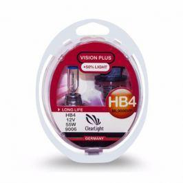 Лампа HB4 Clearlight 12V-55W Vision Plus +50% Light 2 шт.