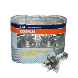 Лампа Osram H4 55W 12V Allseason 2 шт.