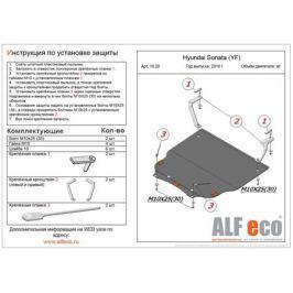 Защита Hyundai Sonata YF 2010- / Kia Optima 2010- all картера и КПП штамповка