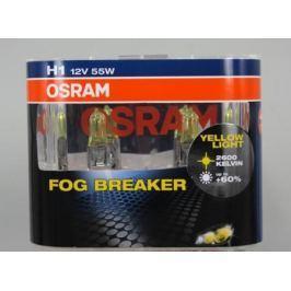 Лампа Osram H1 55W 12V Fog Breaker 2 шт.