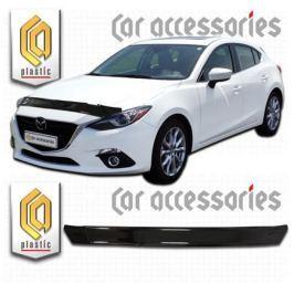 Дефлектор капота CA Mazda 3 HB 2013–