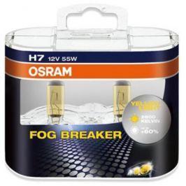 Лампа Osram H7 55W 12V Fog Breaker 2 шт.