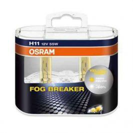 Лампа Osram H11 55W 12V Fog Breaker 2 шт.