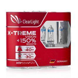 Лампа H7 Clearlight 12V-55W X-treme Vision +150% Light 2 шт.