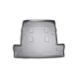 Коврик в багажник LEXUS LX 570, 2007-2012, 2012- , 7 мест полиуретан, чёрный