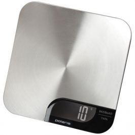 Весы кухонные Polaris PKS 0538DM серебристый