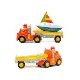 Трейлер Kiddieland с яхтой разноцветный KID 047928.1