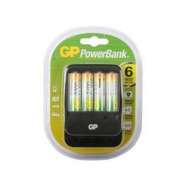 Зарядное устройство + аккумуляторы GP PB570GS270-2CR4 2700 mAh AA 4 шт