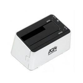 "Док станция для HDD 2.5""/3.5"" SATA AgeStar 3UBT3-6G USB3.0 серебристый"
