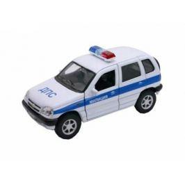 Автомобиль Welly Chevrolet Niva МИЛИЦИЯ ДПС 1:34-39 белый