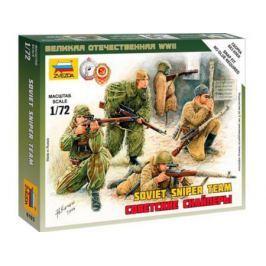 Набор Звезда Сборные фигурки Советские снайперы 1:72 хаки 6193