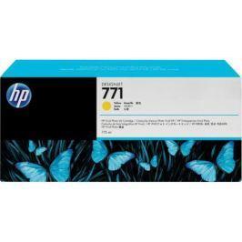 Струйный картридж HP B6Y10A №771С желтый для HP Designjet Z6200