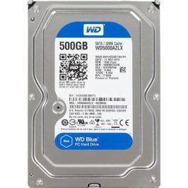 "Жесткий диск 3.5"" 500 Gb 7200rpm 32Mb cache Western Digital Blue Desktop SATAIII WD5000AZLX"