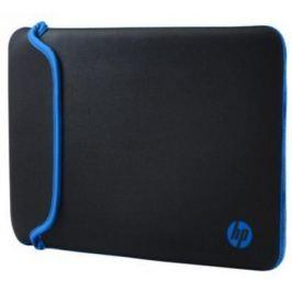 """Чехол для ноутбука 11.6"""" HP V5C21AA черный голубой"""