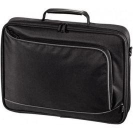 """Сумка для ноутбука 15.6"""" HAMA Sportsline Bordeaux политекс серый черный"""