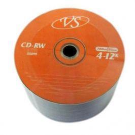 Диски VS CD-RW 700Mb 12x Bulk/50