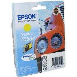 Картридж Epson C13T06344A10 для Stylus C67 C87 CX3700 CX4100 CX4700 Yellow Желтый