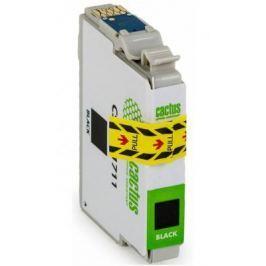 Струйный картридж Cactus CS-EPT1711 черный для Epson Expression Home XP-33/103/203/207/303/306/403/406
