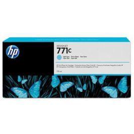 Картридж HP B6Y12A №711С для HP Designjet Z6200 775мл светло-голубой