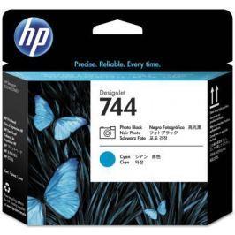 Печатающая головка HP 744 F9J86A для HP Designjet Z2600 Z5600 черный синий