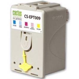 Струйный картридж Cactus CS-EPT009 цветной для Epson Stylus Photo 1270/1290 320стр.