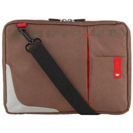 "Сумка для ноутбука 10.2"" Crown CMSBG-4410BN синтетика коричневый"