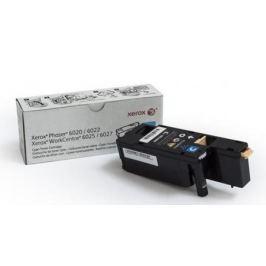 Картридж Xerox 106R02760 для Phaser 6020/6022/WorkCentre 6025/6027 голубой 1000стр