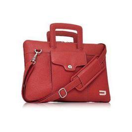 """Чехол для ноутбука MacBook Air 13"""" Urbano Leather Handbag кожа красный UZRBA-04"""